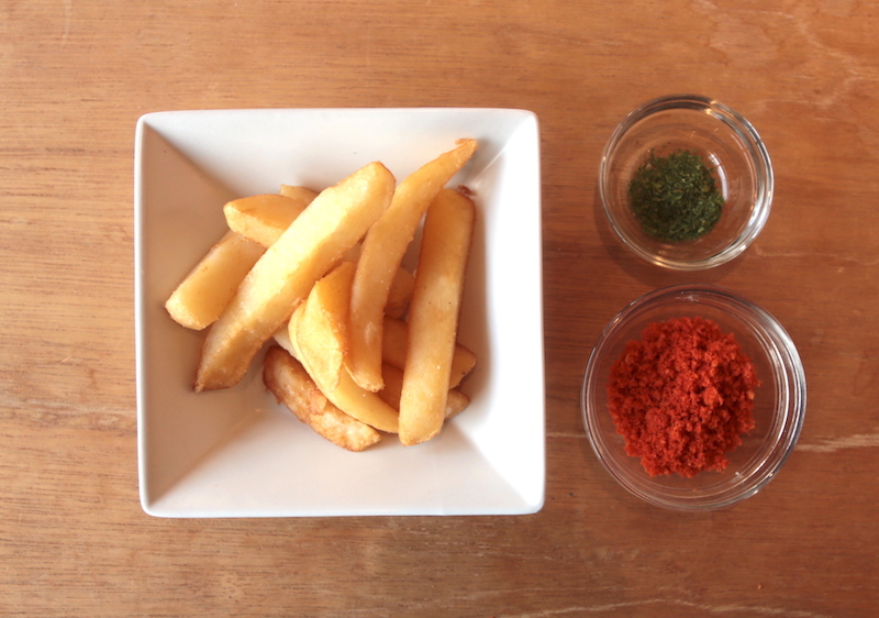 トマト風味フライドポテトの材料