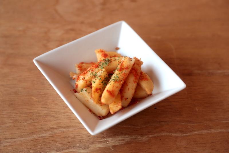 トマト風味フライドポテト
