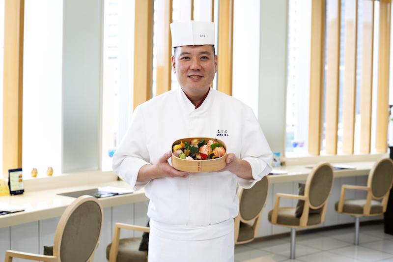 『日本橋 なだ万』料理長の榎本洋右さん