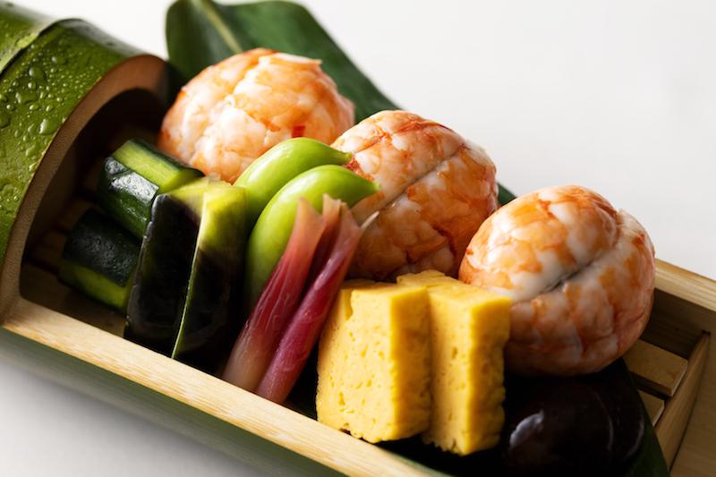 3種の手まり寿司