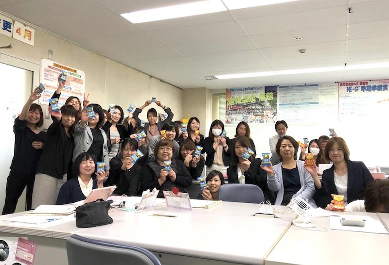 アマノフーズ試食モニターキャンペーン集合写真