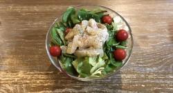 白身魚の和風カルパッチョサラダ