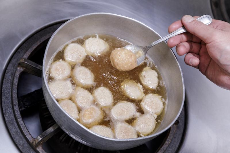 とろろ入り鶏団子のレシピ