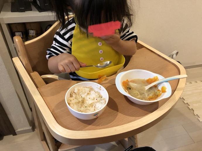 鍋料理と娘