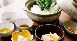 湯豆腐とタレ