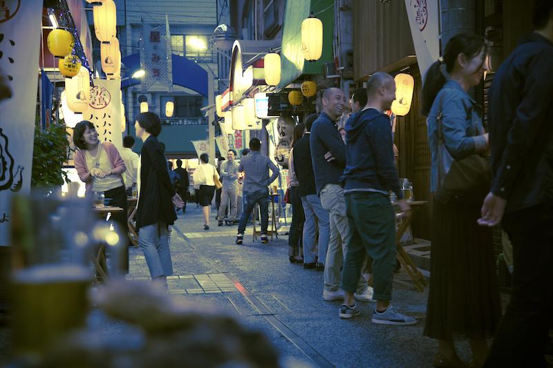 はしご牡蠣_横川商店街