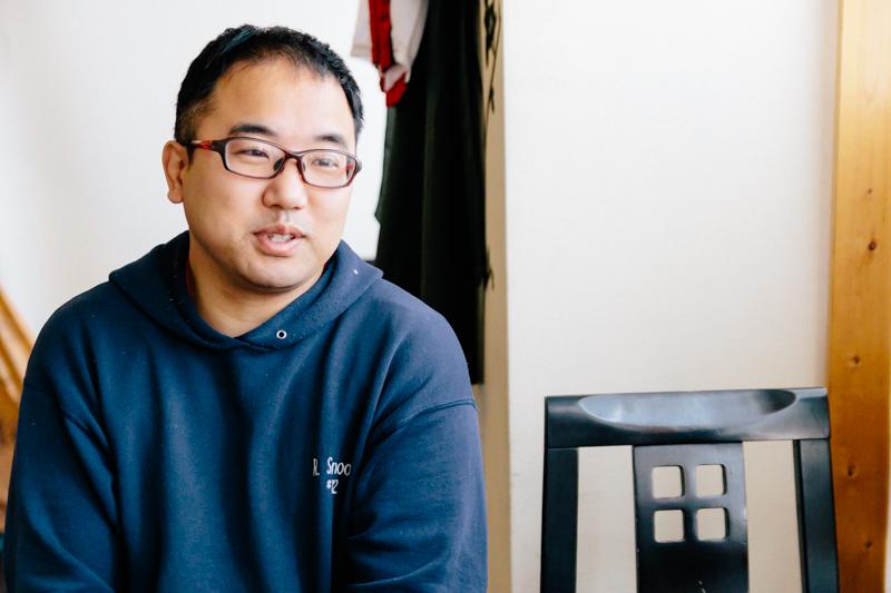 「ダイニング・ハルコマ」店主の鷲見孝二さん