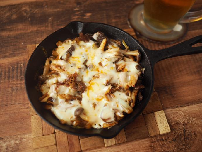 牛煮込みチーズタッカルビ風の完成