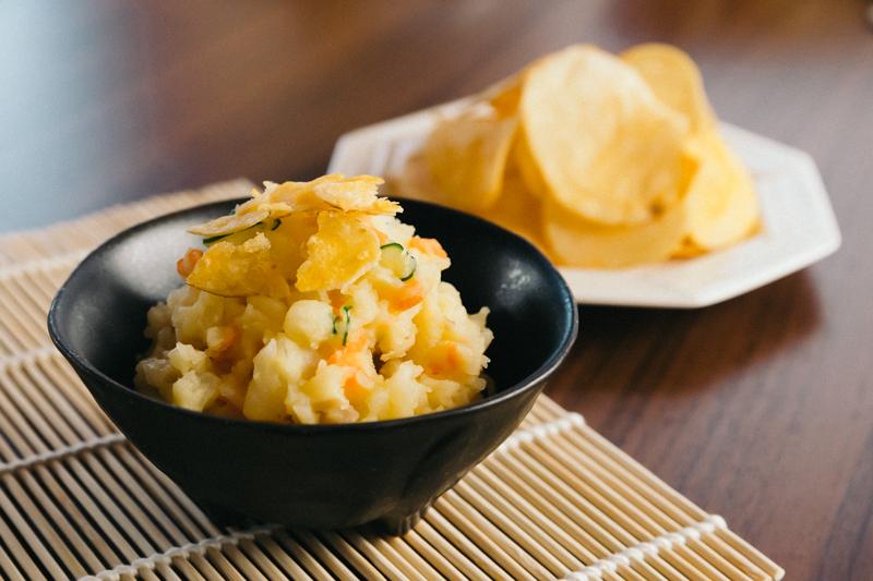 コンソメ味のポテトサラダ