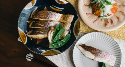鯛の切り身で作った料理3品