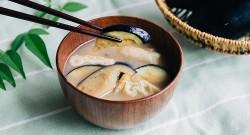 なすのお味噌汁レシピ(完成)