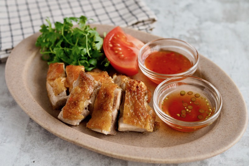 下味とタレに魚醤を! 旨味たっぷり「しょっつるチキン」