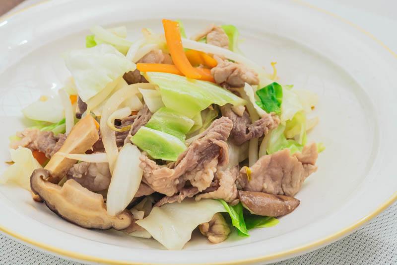 下味冷凍で作る「野菜炒め」