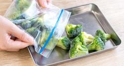 冷凍保存したブロッコリー