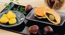 栗の甘露煮&栗のどら焼き